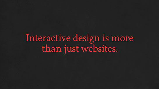 I'm really not a web designer.
